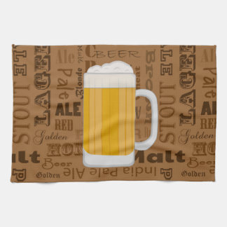 Types of Beer Series Print 1 Tea Towel