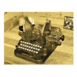 Typewriter2 Postcard
