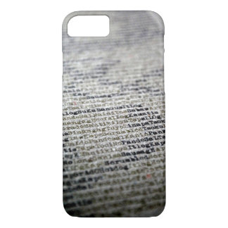 Typewriter and Words iPhone 8/7 Case