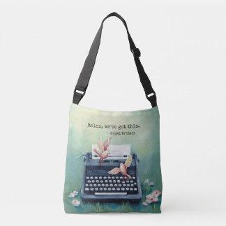 """Typewriter & Bird """"Got This"""" Crossbody Bag"""