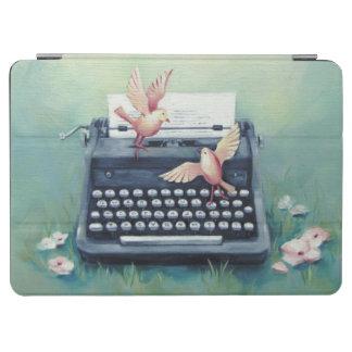 Typewriter & Birds iPad Air Cover