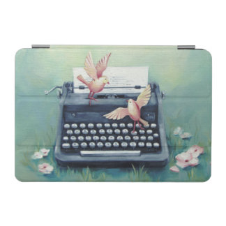 Typewriter & Birds iPad Mini Cover