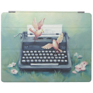 Typewriter & Birds Ipad Smart Cover iPad Cover