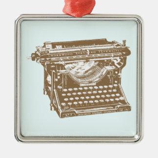 Typewriter Christmas Ornament