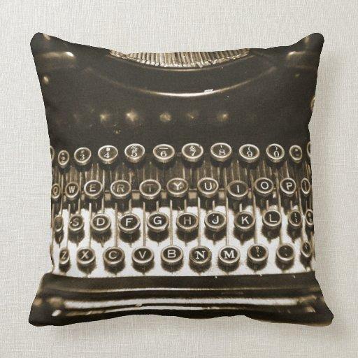 Typewriter Pillows