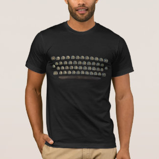 Typewriter Keyboard , Type, Text. T-Shirt