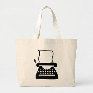 Typewriter - Manual Typing Old School Writing Jumbo Tote Bag