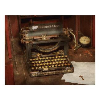 Typewriter - My bosses office 21.5 Cm X 28 Cm Flyer