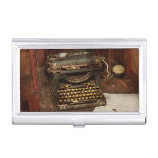 Typewriter - My bosses office Business Card Holder