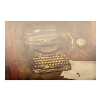 Typewriter - My bosses office Personalized Stationery