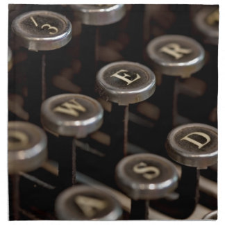 Typewriter Napkin