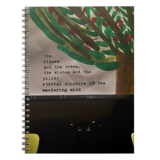 Typewriter Painting Notebook