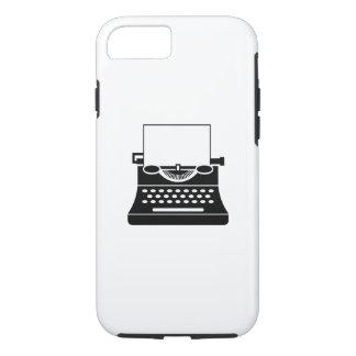 Typewriter Pictogram iPhone 7 Case