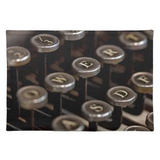 Typewriter Placemat
