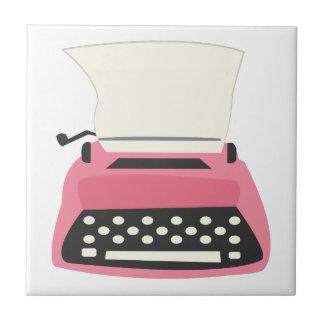 Typewriter Ceramic Tile