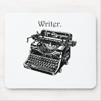 Typewriter Writer Mouse Mat
