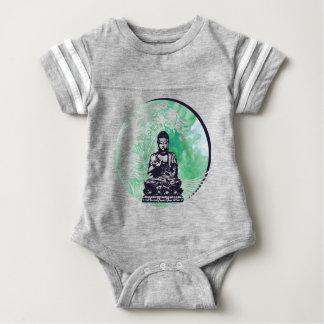 Typhoon Buddha Wave Emerald Smoke Baby Bodysuit