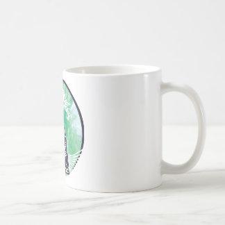 Typhoon Buddha Wave Emerald Smoke Coffee Mug