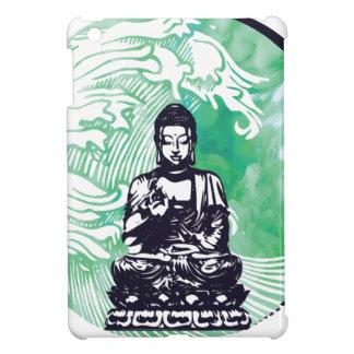 Typhoon Buddha Wave Emerald Smoke Cover For The iPad Mini