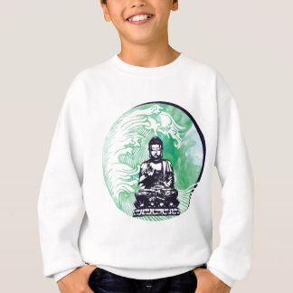 Typhoon Buddha Wave Emerald Smoke Sweatshirt