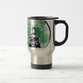 Typhoon Buddha Wave Emerald Smoke Travel Mug