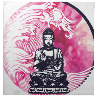 Typhoon Buddha Wave Napkin