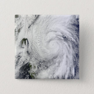 Typhoon Chaba in the Philippine Sea 15 Cm Square Badge