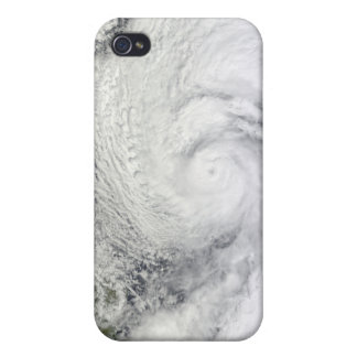 Typhoon Chaba in the Philippine Sea iPhone 4 Cases