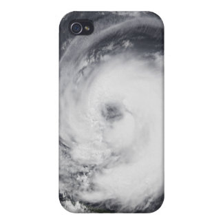 Typhoon Chaba in the western Pacific Ocean iPhone 4 Cover
