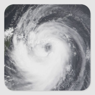 Typhoon Chaba in the western Pacific Ocean Square Sticker
