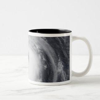 Typhoon Chaba in the western Pacific Ocean Two-Tone Coffee Mug