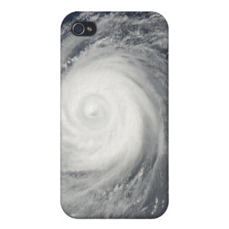 Typhoon Choi-wan south of Japan, Pacific Ocean Cases For iPhone 4