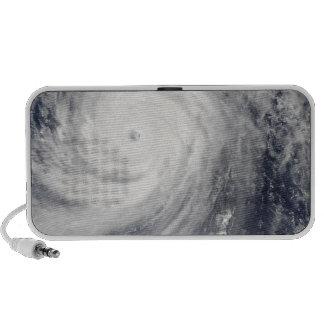 Typhoon Choi-wan west of the Mariana Islands iPod Speaker