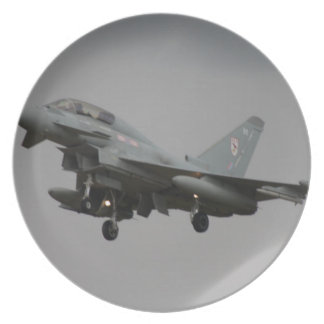 Typhoon Euro fighter Plates