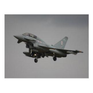 Typhoon Euro fighter Postcard