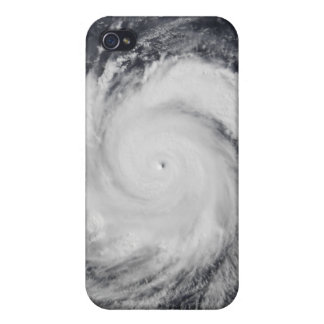Typhoon Faxai in the western Pacific Ocean iPhone 4 Cover