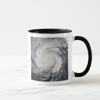 Typhoon Faxai in the western Pacific Ocean Mug
