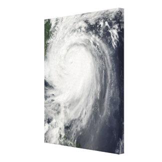 Typhoon Jangmi Canvas Print