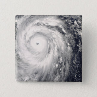 Typhoon Jangmi off Taiwan and the Philippines 15 Cm Square Badge