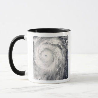 Typhoon Jangmi off Taiwan and the Philippines Mug