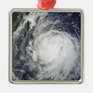 Typhoon Lupit off the Philippines Christmas Ornament
