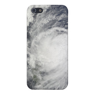 Typhoon Lupit off the Philippines iPhone 5 Case