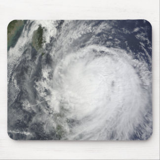Typhoon Lupit off the Philippines Mouse Mat