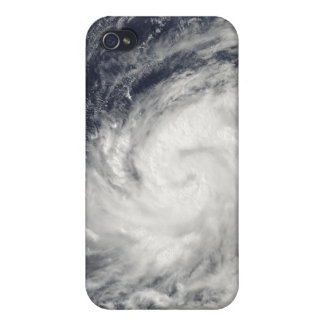 Typhoon Lupit over the western Pacific Ocean iPhone 4/4S Case