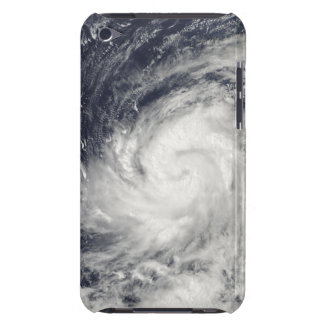 Typhoon Lupit over the western Pacific Ocean iPod Touch Case-Mate Case