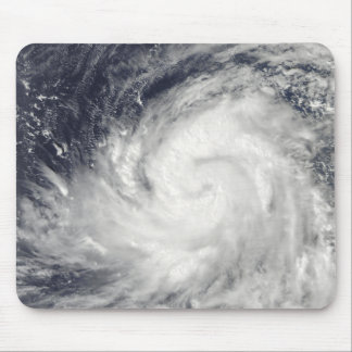 Typhoon Lupit over the western Pacific Ocean Mouse Mat