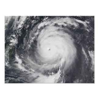 Typhoon Maemi in the Western Pacific Ocean Photo Print