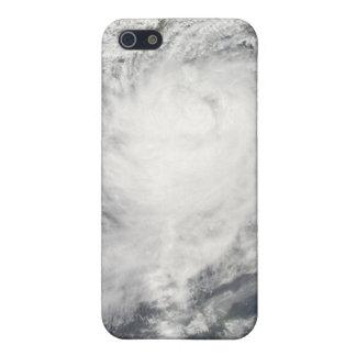 Typhoon Morakot over Taiwan iPhone 5/5S Cases