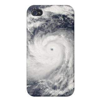 Typhoon Nida in the Pacific Ocean Case For The iPhone 4