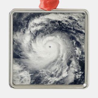 Typhoon Nida in the Pacific Ocean Christmas Ornament